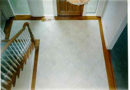 Flooring selections for Floor tiles border design